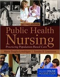 public health nursing practicing population based care
