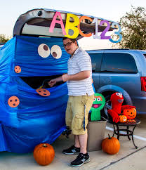 image result for trunk or treat sesame street fall is my