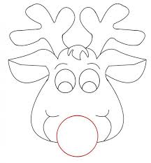 coloring pages reindeer coloring sheet free santa reindeer