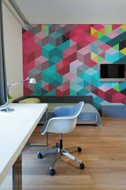 Office Wall Decor Ideas 24 Stylish Geometric Wall Décor Ideas Digsdigs