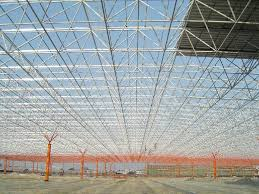 high strength structural steel grid lightweight structural