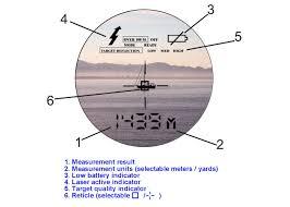 newcon lrm 1800s laser range finder monocular with speed detection