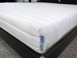 sleep on latex mattress review sleepopolis