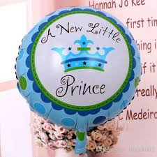 birthday balloon delivery for kids new blue crown girl baby shower bath foil helium balloons wedding