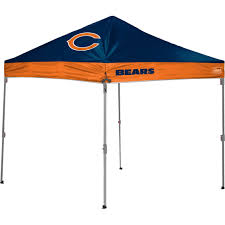 Canopy Trash Can by Jarden Sports Licensing Nfl Chicago Bears 10 X 10 Ft Straight Leg