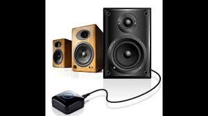 home theater adapter etekcity wireless bluetooth 4 0 receiver audio adapter nfc