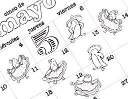 free printable cinco de mayo coloring pages for kids best