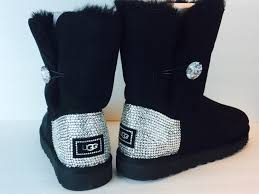 ugg boots sale bailey button bailey button bling uggs custom with swarovski elements free