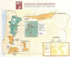 Oregon Winery Map by Along The Oregon Pinot Trail Part 2 The Pinotfile Volume 10