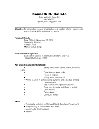 simple resume exles for college students basic format of resume sle resume for college student simple