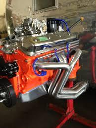 corvette c3 headers sanderson c33ap header set