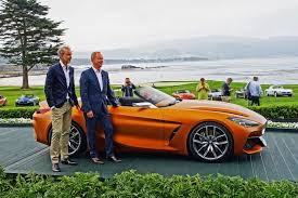 bmw concept car bmw concept z4 unveiled at concours d u0027elegance in pebble beach
