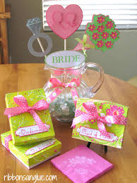 bridal luncheon favors bridal shower luncheon tablescape