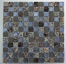 lux 043 dusk 25x25mm mosaic tile topps tiles