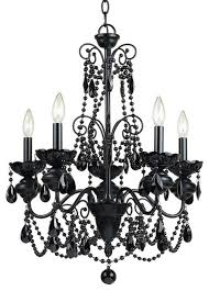Chandelier Wire Earrings Thesecretconsul Com Black Chandelier With Crystals Drum Mini 85 Light Lighting Lamp