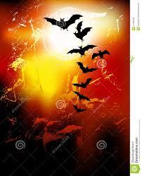 halloween full moon background halloween background flying bats in full moon royalty free stock