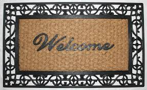 Coir And Rubber Doormat Coir And Rubber U2014 Us Decor Llc Products