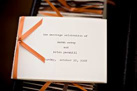 Simple Wedding Program Examples Estel U0027s Blog Here You 39ll See Their Simple But Beautiful Wedding