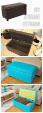 kasey u0027s kitchen diy storage ottoman makeover