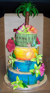 25 luau birthday cakes ideas luau cakes