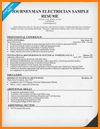 resume template journeyman electrician 100 images best resume