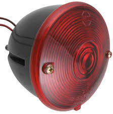 how to wire the peterson round trailer tail light 431800 using