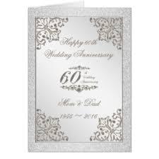 60th wedding anniversary cards invitations greeting photo