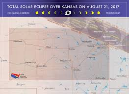 Map Topeka Ks 2017 Total Solar Eclipse In Kansas