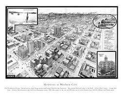 Map Houston Tx Amazing Old Map Of Houston Texas From 1912 Knowol
