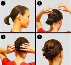 Model Sanggul Rambut Pendek | model rambut sanggul simple untuk rambut pendek 2018