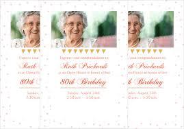 birthday invite template 26 80th birthday invitation templates free sle exle