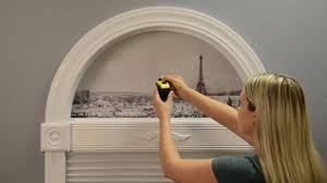 measure simple stick arch shades inside mount by redi shade youtube