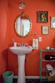 Red Coral Home Decor by Paint Color Portfolio Coral Bathrooms Apartment Therapy Coral