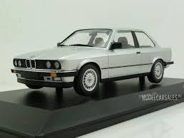 bmw e30 model car bmw 323i e30 silver 1 18 155026001 minichamps diecast model car