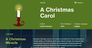 a christmas carol stave 1 summary course hero