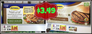 butterball frozen turkey burgers only 3 49 at kroger reg 8 99