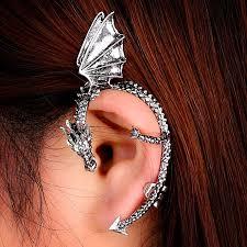 cartilage cuff earrings aliexpress buy 1pc women bling rhinestone butterfly