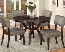 dining set w 48in dia table drake by acme ac16250set