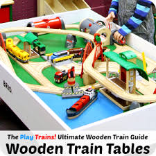 Imaginarium Train Set With Table 55 Piece The Play Trains Guide To The Best Wooden Train Sets 2017