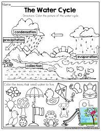 Water Cycle Worksheet Pdf The Water Cycle Worksheet Semnext