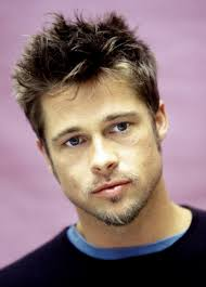 spiky hairstyle with brad pitt 100 most fashionable gents