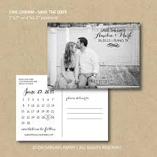 save the date postcard printable save the date postcard chic charm calendar postcard