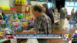 registration for salvation army u0027s toy shop begins thursday to