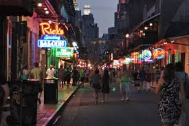 Google Maps Bourbon Street New Orleans by Nola Night Scene New Orleans Easy Travel Guide