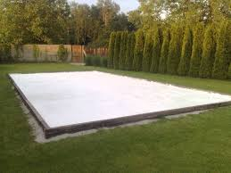 Hockey Rink In Backyard by Backyard Hockey Rink Summer Edition Youtube