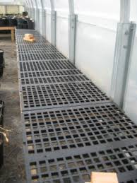 Metal Greenhouse Benches The Bulb Maven Greenhouse Tips