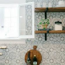 kitchen backsplash wallpaper ideas white subway tile temporary backsplash the tutorial the