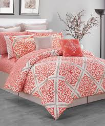 Gold And Coral Bedroom Bedroom Interesting Decorative Bedding With Comfortable Coral