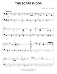 Javascript Floor by The Scare Floor Sheet Music Direct