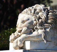 marble lion bookends pair sleeping lion bookends sculptures antonio canova canova